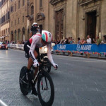 Road World Championships 2013: The race on the paved street of Via Tornabuoni - We thank Mr. Francesco Simonetti for allowing us to use this image