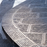 San Casciano - supply of hand-striped pavement
